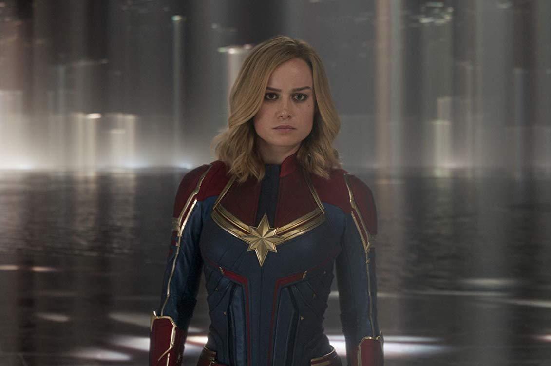 Captain Marvel. Brie Larson