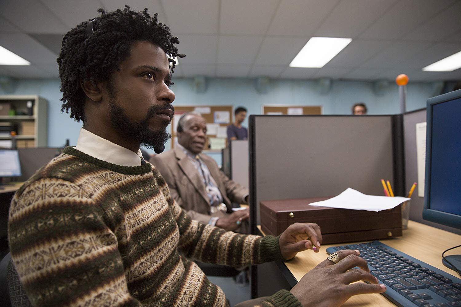 Donald Glover. Sorry to Bother You