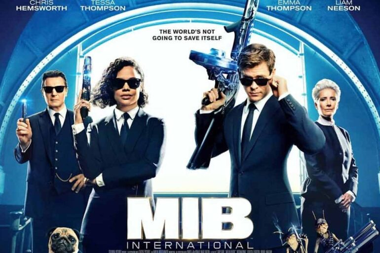 Men in Black: International. Chris Hemsworth. Tessa Thompson