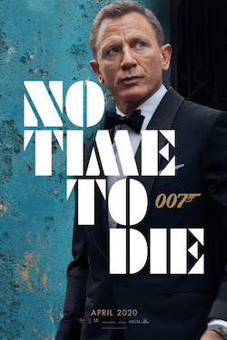 James Bond, no time to die