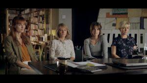 Lene Maria Christensen, Sidse Babett Knudsen, Danica Curcic og Amanda Collin i 'Undtagelsen' læs anmeldelsen på Filmpuls.dk