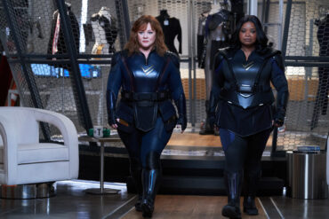 Thunder Force, Melissa McCarthy og Octavia Spencer. Læs anmeldelsen på Filmpuls.dk.
